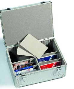 Coin wallet ROUTE with 8 Coin Sheets each for 6 coins, blue