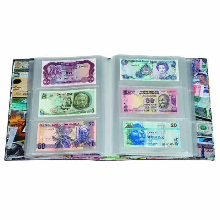 100pcs Paper Money Stamps Sleeves Clear Banknote Collection Protect Storage Bags 100% Guarantee Coins & Paper Money Publications & Supplies