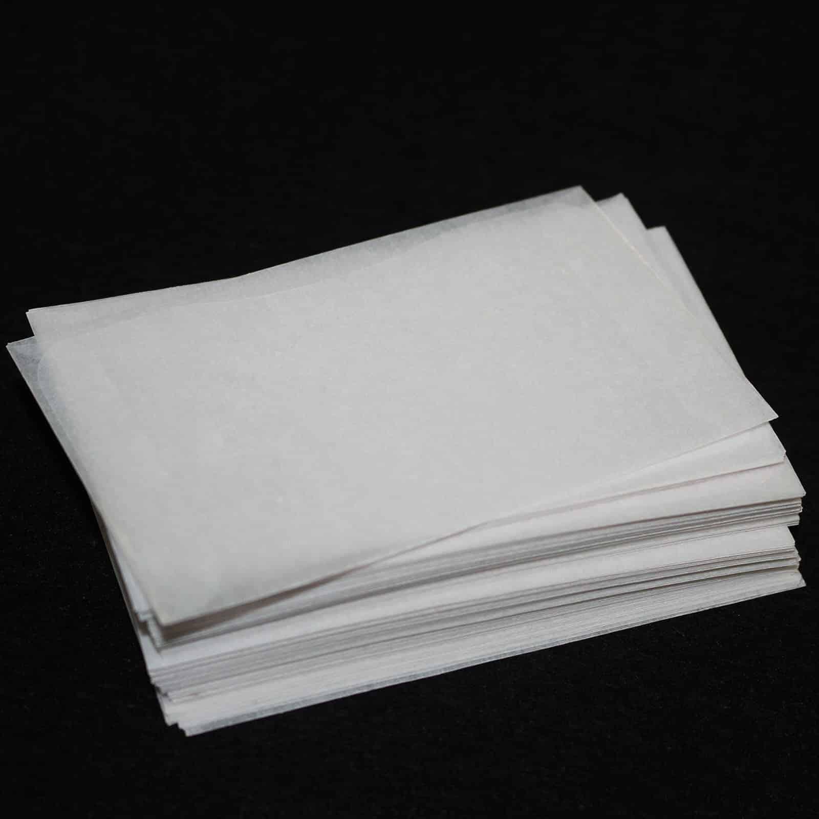 35mm 6 Frame Strip Plain Glassine Envelopes