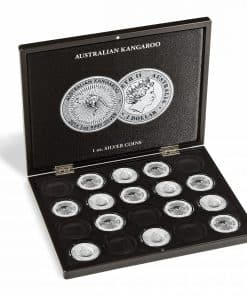 VOLTERRA presentation cases for Silver coins